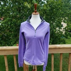 Nike Dri-Fit Purple Hooded Pullover